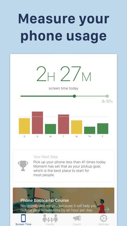 Moment – Balance Screen Time screenshot-0