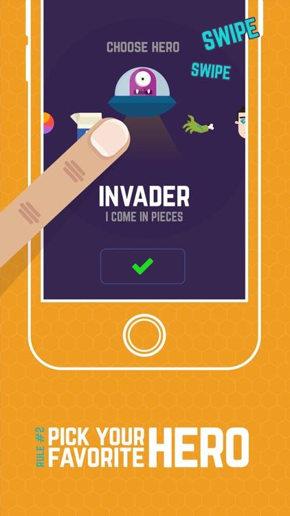Finger Hero: Avoid Obstacles