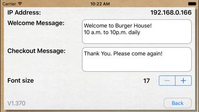 Screenshot #2 pour Mobi POS - Customer Display