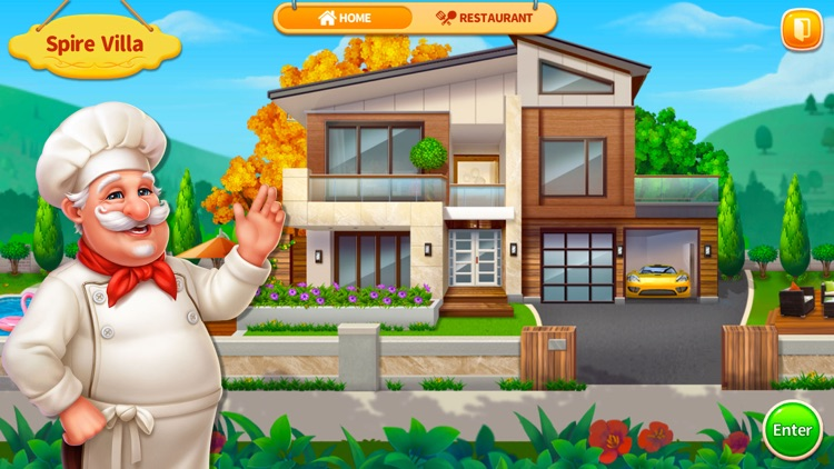 Cooking Home: Restaurant Games screenshot-3