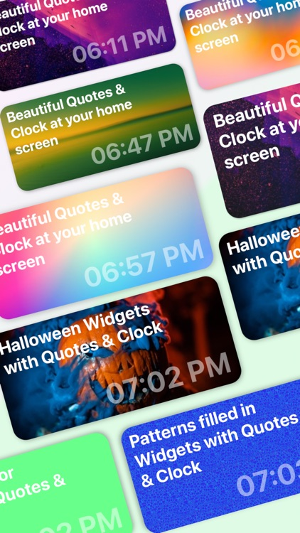 Widget quotes for Home Screen