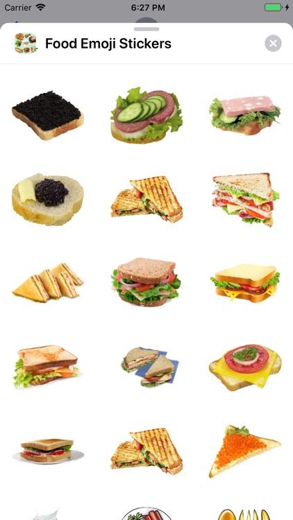 Food Emoji Stickers screenshot-4