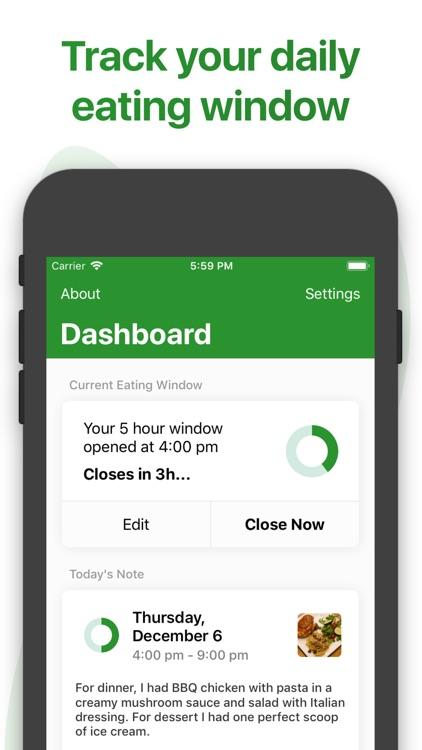 Window - Fasting Tracker screenshot-3
