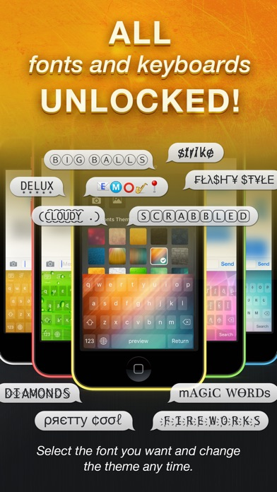 Screenshot for Cool Fonts Pro - Font Keyboard in United Arab Emirates App Store