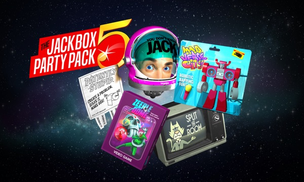 The Jackbox Party Pack 5 for Apple TV by Jackbox Games, Inc.