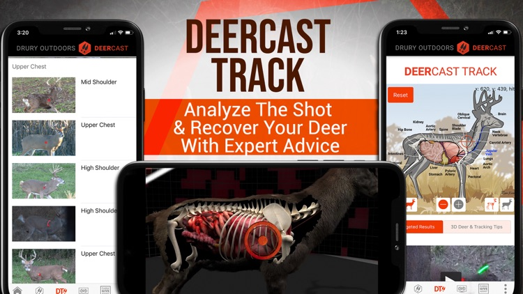 DeerCast: Deer Hunting Decoded