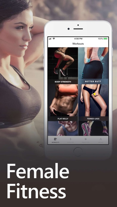 Female Fitness Women Workout app image