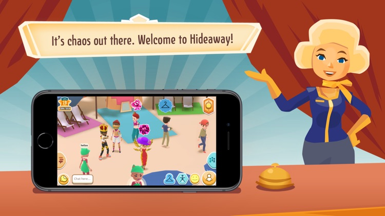 Hotel Hideaway: Virtual Party
