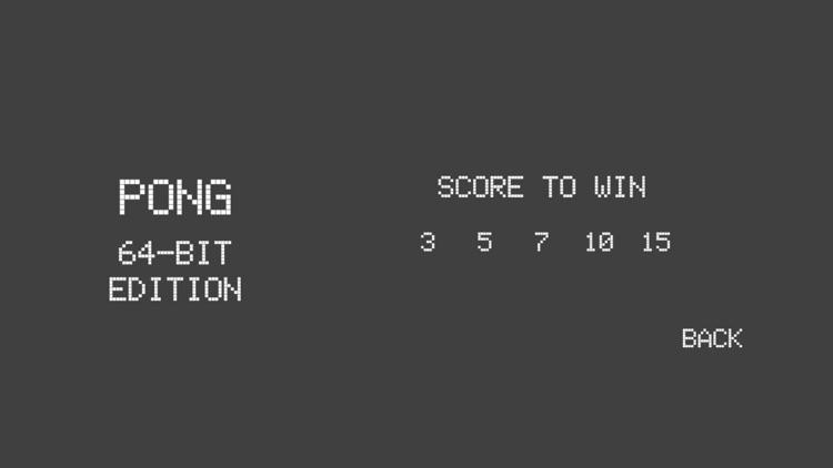 PONG 64-Bit