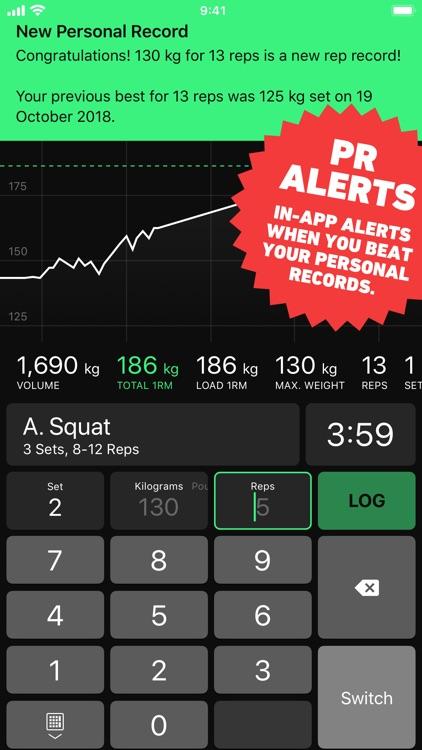 HeavySet - Gym Log Workout screenshot-5