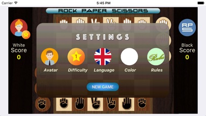Screenshot for Rock Paper Scissors Strategic in Czech Republic App Store