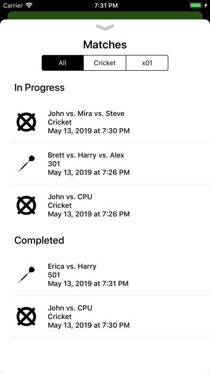 Simple Darts Scoreboard screenshot-4