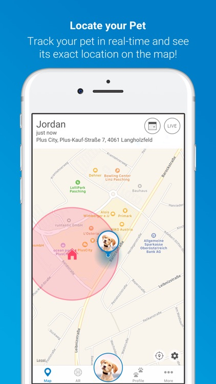 Tractive GPS for Dogs and Cats screenshot-0