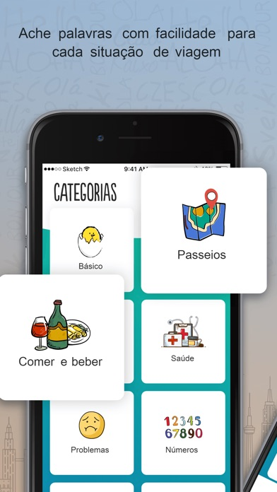 Screenshot for Trocal Francês in Brazil App Store