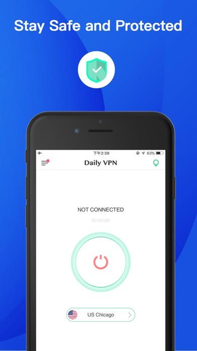 Daily VPN - Super VPN ProxyScreenshot von 1