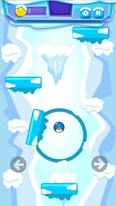 Snow Birds Adventure Game Screenshot on iOS