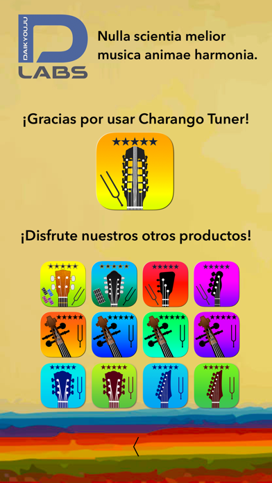 Screenshot for Afinador de Charango Pro in Chile App Store