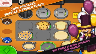 Screenshot for Papa's Pancakeria To Go! in Azerbaijan App Store