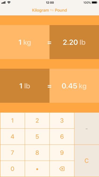 Kilograms To Pounds