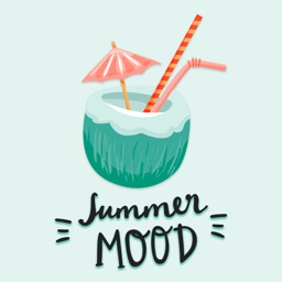 Hot Summer Mood Stickers