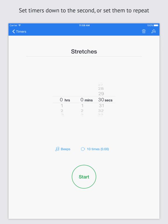 Timer+ screenshot