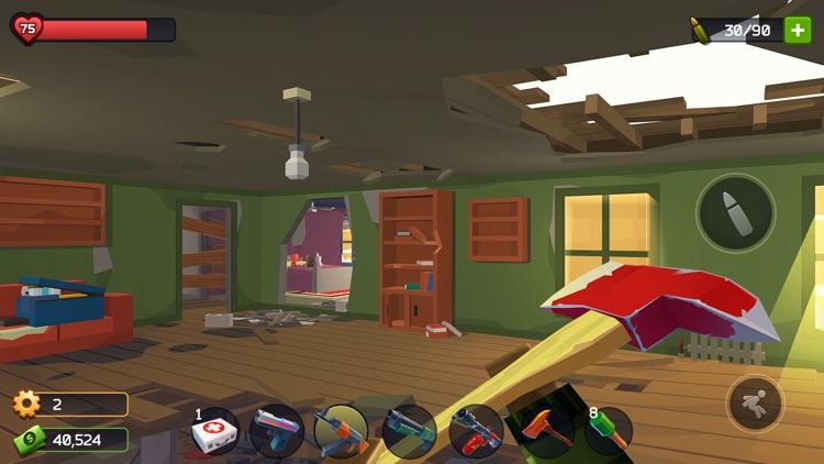 Pixel Combat: Zombie Games 3-D screenshot-4