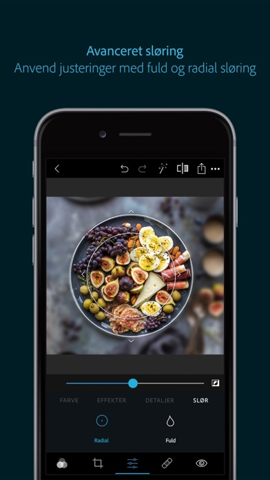 Screenshot for Photoshop Express-Fotoeditor in Denmark App Store