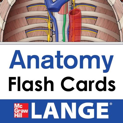 Lange Anatomy Flash Cards