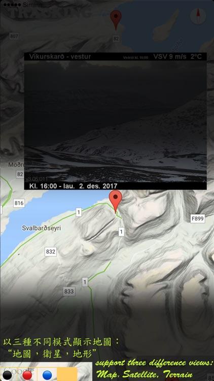 isAutoTrack Iceland Traffic screenshot-3
