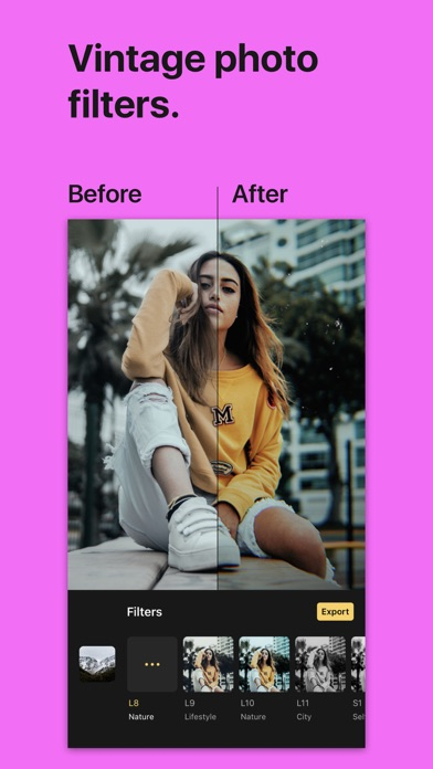 Filterious Photo Filters screenshot one