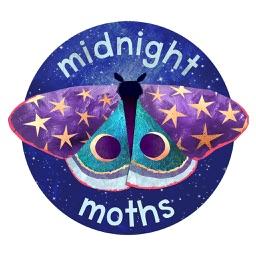 Midnight Moth Bedtime Stickers