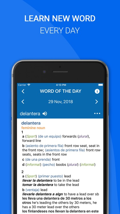 Oxford Spanish Dictionary 2018 screenshot-4