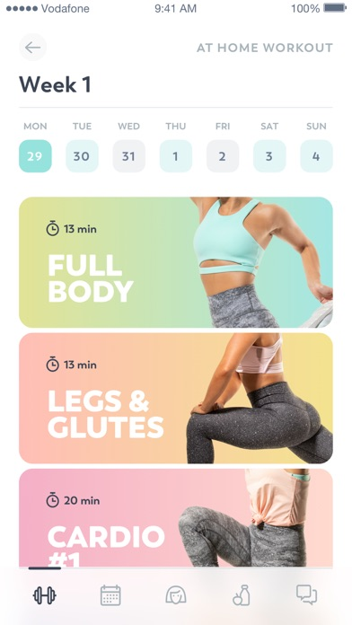 Screenshot for Workout for Women in Argentina App Store