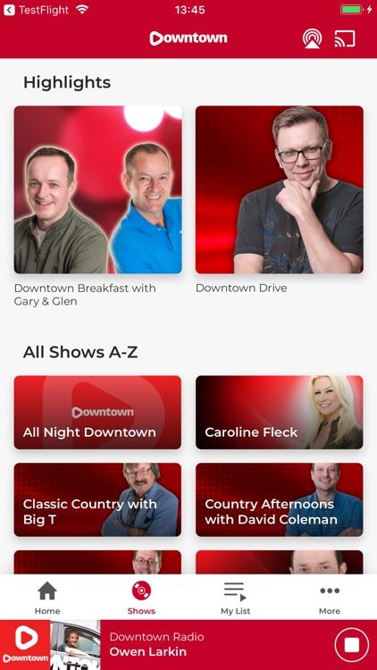 Downtown Radio screenshot-3