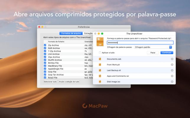The Unarchiver na Mac App Store