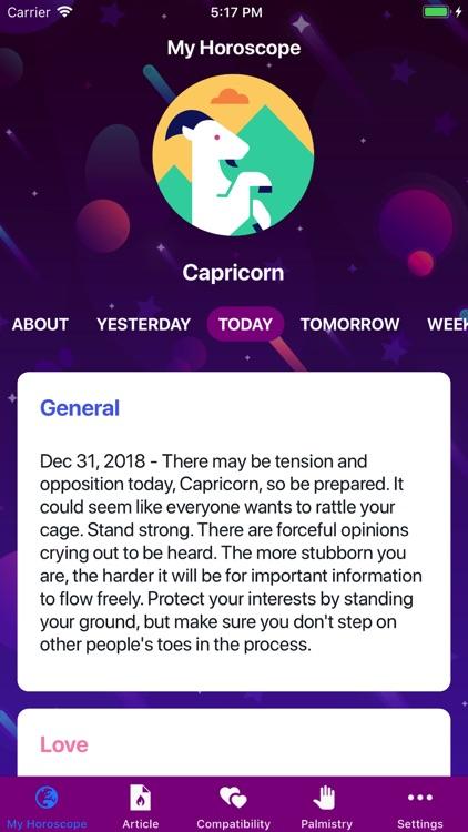 Horoscope 2019!