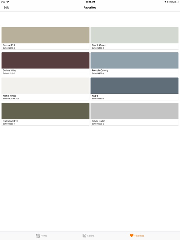 Screenshots for Project Color™ The Home Depot