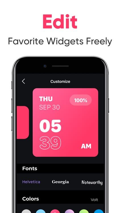 Font & Color Widgets screenshot-3