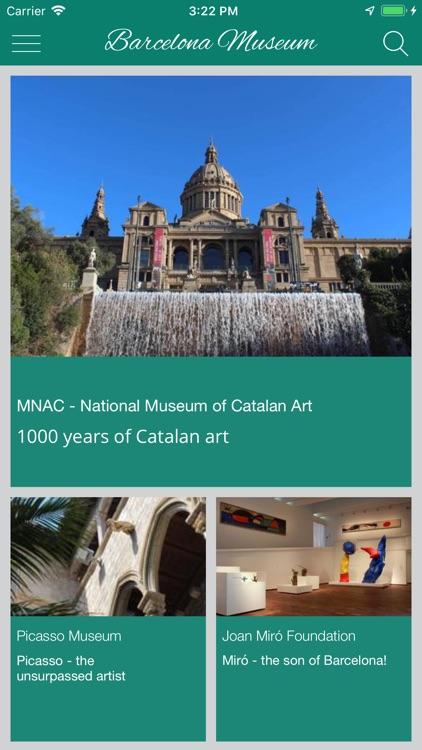 Barcelona Museums and sights screenshot-4