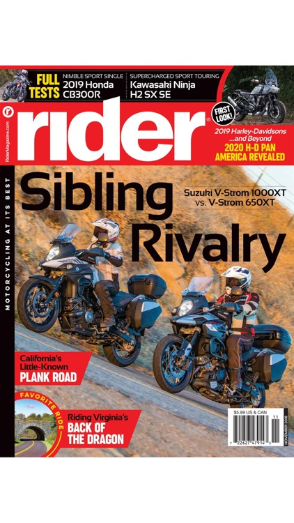 Rider Magazine, Motorcycling at its Best screenshot-4