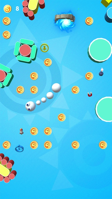 Screenshot for Happy Snakes in United States App Store
