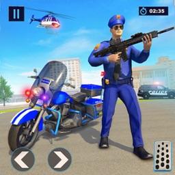 Police Bike Gangster Crime