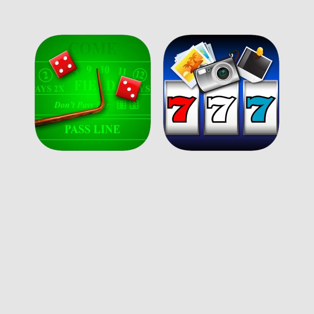 Casino Bundle - Craps Deluxe + Photo Slots!