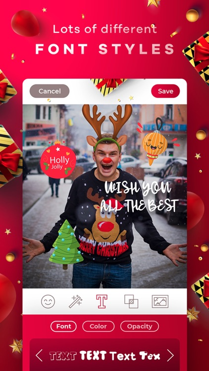 New Year & Christmas Editor screenshot-4