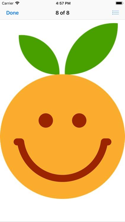 Clementine Stickers screenshot-8