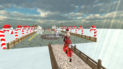 Christmas Santa Girl Run screenshot 7