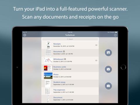 Screenshot of TurboScan™ Pro: PDF scanner