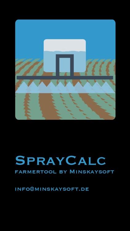 Spray Calc