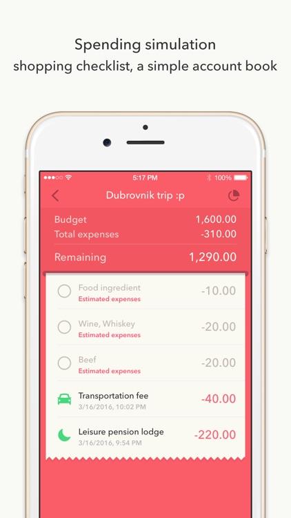 Budget management - MiniBudget