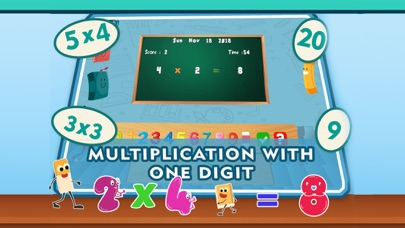 Math Multiplication Quiz Games